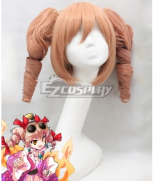 Touhou Project Yorigami Joon Pink Cosplay Wig