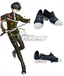 Touken Ranbu Kotegiri Gou Blue Cosplay Shoes