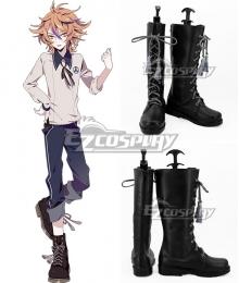 Touken Ranbu Online Gotou Toushirou Black Shoes Cosplay Boots