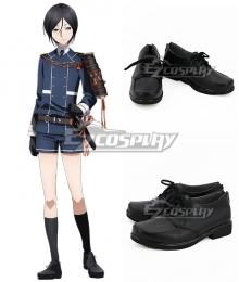 Touken Ranbu Online Yagen Toushirou Black Cosplay Shoes