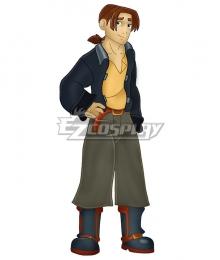 Treasure Planet Jim Hawkins Cosplay Costume