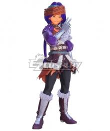 Trials of Mana Hawkeye Rogue Cosplay Costume