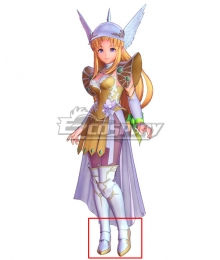 Trials of Mana Riesz Vanadis White Shoes Cosplay Boots