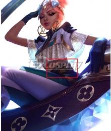 League of Legends LOL True Damage Qiyana Prestige Edition Waist Bag Cosplay Accessory Prop
