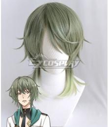 Tsukiuta. Rui Minaduki Procellarum Green Cosplay Wig