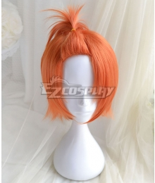 Tsukiuta. You Haduki Procellarum Orange Cosplay Wig