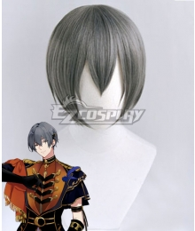Tsukiuta.THE ANIMATION 2 Arata Uduki Six Gravity Gray Cosplay Wig
