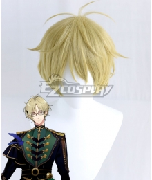Tsukiuta.THE ANIMATION 2 Haru Yayoi Six Gravity Golden Cosplay Wig
