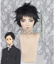 Tsurune: Kazemai Koukou Kyuudoubu Minato Narumiya Black Cosplay Wig