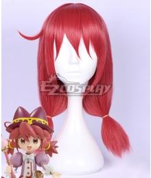 Twin Princess of Wonder Planet Fushigiboshi no Futagohime Fine Pink Cosplay Wig