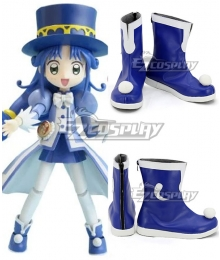Twin Princess of Wonder Planet Fushigiboshi no Futagohime Rein Blue Cosplay Shoes