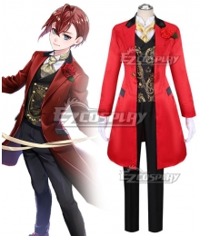 Disney Twisted Wonderland Heartslabyul Riddle Rosehearts Groom For A Day Cosplay Costume