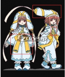 Hack Legend Of The Twilight Mireille Cosplay Costume - Only Bow Hat  Bell