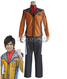 Ultraman Mebius Crew Guys Japan Male Cosplay Costume