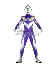 Ultraman Tiga Sky Type Cosplay Costume