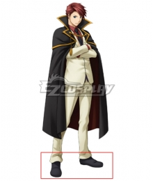 Umineko no Naku Koro ni Umineko: When They Cry Battler Ushiromiya Black Cosplay Shoes