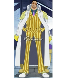 One Piece Kizaru Borsalino Cosplay Costume
