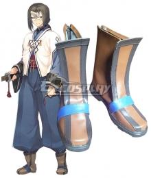 Utawarerumono Hakuoro Brown Cosplay Shoes