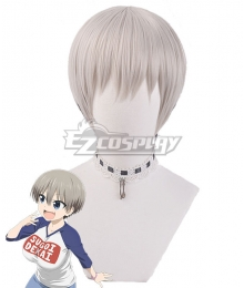 Uzaki-chan Wants to Hang Out! Uzaki-chan wa Asobitai! Hana Uzaki Gray Cosplay Wig