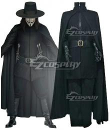 V for Vendetta V Cosplay Costume