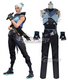 Valorant Jett Halloween Cosplay Costume