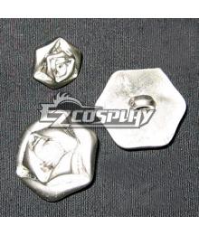 Vampire Knight Cosplay Rose Button
