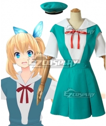Virtual YouTuber Suzuki Hina Cosplay Costume