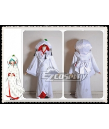 Vocaloid 2013 Edition Snow Miku Marry Suit Cosplay Costume