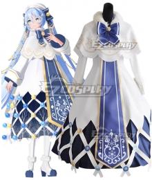 Vocaloid 2021 Snow Miku Hatsune Miku Cosplay Costume