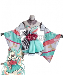 Vocaloid 39 Culture 2020 World and Fes Hatsune Miku Cosplay Costume