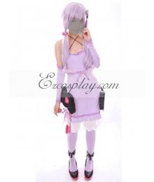 Vocaloid 3 Yuzuki Yukari Cosplay Costume - Without Coat
