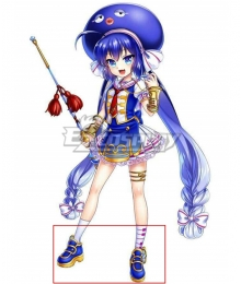 Vocaloid 4 Otomachi Una Sugar Blue Cosplay Shoes
