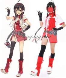 Vocaloid China Project Lin Caiyin Cosplay Costume