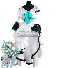 Vocaloid Hatsune Miku 10th Anniversary Figure Project Cosplay Costume