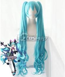 Vocaloid Hatsune Miku 2019 Magical Mirai Blue Cosplay Wig