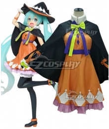 Vocaloid Hatsune Miku 2nd Season Halloween Ver. Cosplay Costume