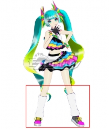 Vocaloid Hatsune Miku Catch The Wave Black Cosplay Shoes