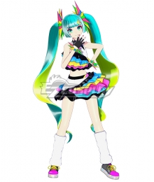 Vocaloid Hatsune Miku Catch The Wave Cosplay Costume