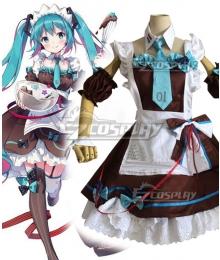 Vocaloid Hatsune Miku Chocolate Cosplay Costume