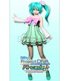 Vocaloid Hatsune Miku Colorful Drop Cosplay Costume