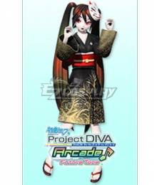 Vocaloid Hatsune Miku Demons and The Dead Cosplay Costume