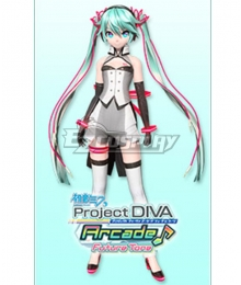 Vocaloid Hatsune Miku Dimensional Cosplay Costume
