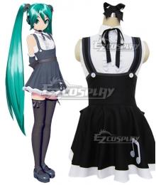 Vocaloid Hatsune Miku Gothic Cosplay Costume