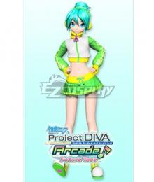 Vocaloid Hatsune Miku Jer★Sey Cosplay Costume
