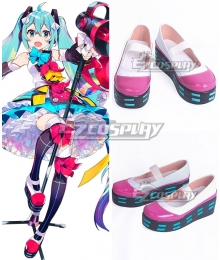 Vocaloid Hatsune Miku Magical Mirai 2018 Pink Cosplay Shoes