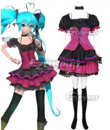 Vocaloid Hatsune Miku out of the gravity Cosplay Costume