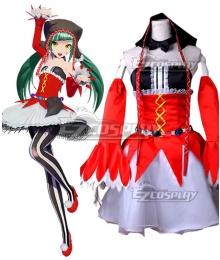 Vocaloid Hatsune Miku Pierretta Cosplay Costume
