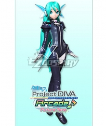 Vocaloid Hatsune Miku Plug-In Cosplay Costume