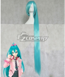 Vocaloid Hatsune Miku Project DIVA-f Ribbon Girl Blue Cosplay Wig