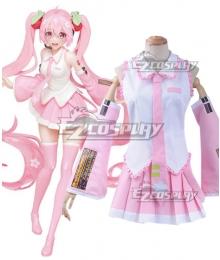 Vocaloid Hatsune Miku Sakura Miku Cosplay Costume